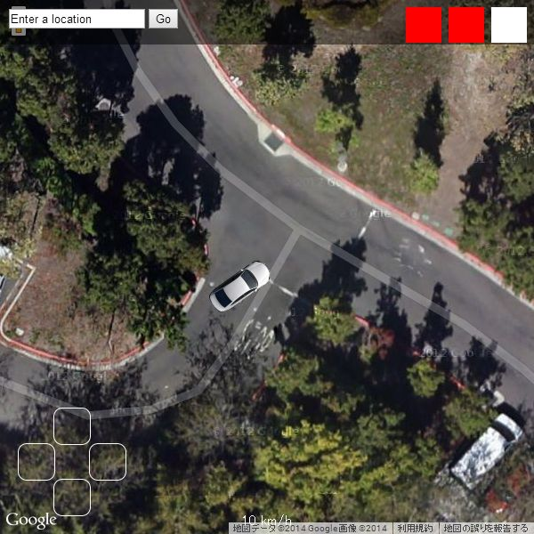 About Driving Simulators using Google Maps - Frame Synthesis